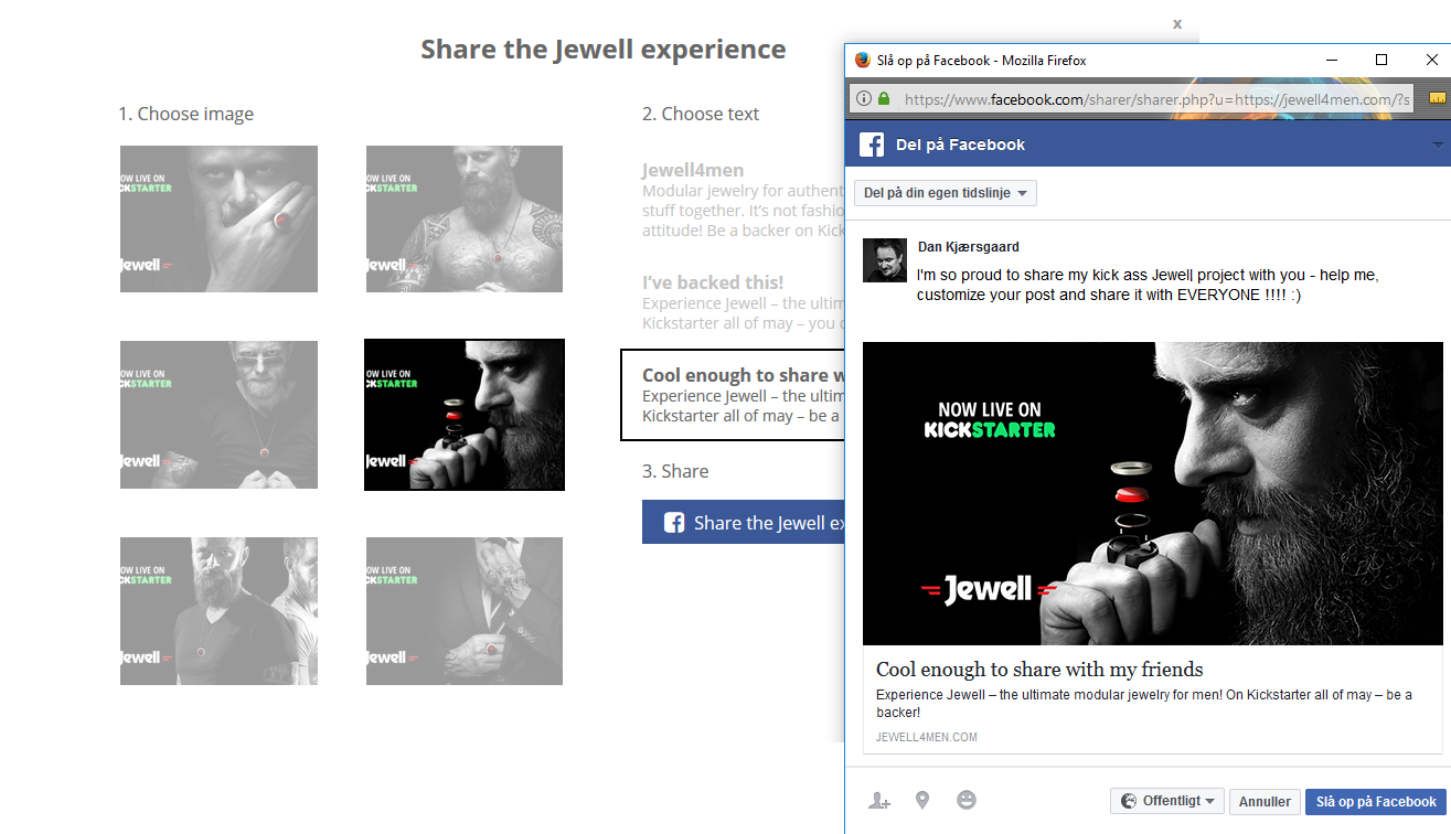 Jewell-share-popup